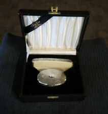 1940s? WAI KEE CHINESE EXPORT STERLING SILVER BRUSH & COMB SET BOXED #1