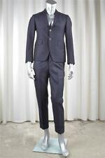 THOM BROWNE Mens Navy Wool Three-Button Jacket Blazer+Pant Suit TB 0 36 NEW