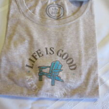 LIFE IS GOOD  T-Shirt Tee NWT Women's Size M Keep it Simple