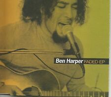 BEN HARPER Faded 2 LIVE TRX & DUST BROTHERS REMIX UK CD single USA seler SEALED