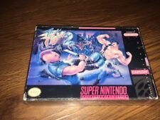 Final Fight 2 (Super Nintendo Entertainment System, 1993) - box only