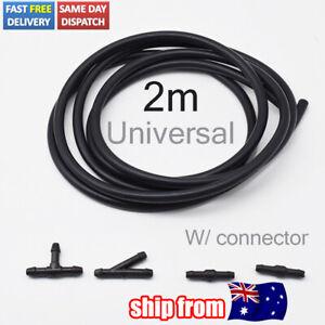 5Pc/set Front Rear Windscreen Wiper Washer Nozzle Jet Pipe Tube Headlight Pump