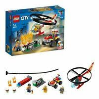 Lego city 60248 elicottero dei pompieri