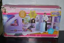 2001 BARBIE TRAVEL TRAIN HUGE BOXED WORKING 54254