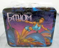 Michael Turner's Fathom Metal Collectible Lunchbox 2000 Top Cow Factory Sealed