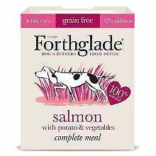 Forthglade Complete Grain free Adult Salmon & veg - 395g - 351842