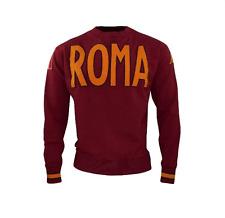 KAPPA EROI ROUND ROMA 1936 FELPA MAGLIA UOMO ROSSO Tg.M  NUOVA SPEDIZIONE GRATIS
