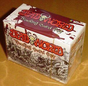 Breygent Dead World Deadworld - Unopened Sealed Box of Trading Cards