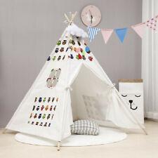 Kids Play Tent Teepee Indian Baby Boys Girls Children Playhut Indoor Outdoor US