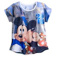 Disney Authentic Minnie Mickey Mouse Disney World Womens T Shirt sz XS M