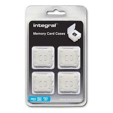 4 casos para Micro Secure Digital (MicroSD/MicroSDHC/MicroSDXC) las tarjetas de memoria