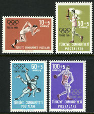 Turkey B103-B106, MI 1924-1927, MNH. 18th Olympic Games, Tokio, 1964