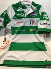 Benetton Rugby Mens XL Jersey Polo Short Sleeve Made In Italy Shirt (1575)