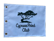 Cypress Point Golf Club Souvenir Flag PGA Tiger Woods Jack Nicklaus Masters