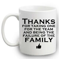 Funny Mug Thanks For Being The Failure Of The Family Mug | Brother Sister Gifts
