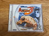 SEGA Dreamcast Street Fighter Alpha 3 NTSC-US Sealed Brand New Collector's Item