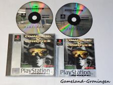 PlayStation 1 / PS1 Game: Command & Conquer (Complete) PLATINUM