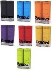 Renova 3 Ply Soft Colour Toilet Loo Bathroom Tissue Paper Rolls 6 Pack