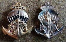 insigne du 1 er bataillon coloniale  de commandos  parachutistes,BCCP