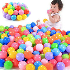 70mm Colorful Soft Plastic Ocean Ball Secure Baby Kid Pit Swim Fun Toy cube