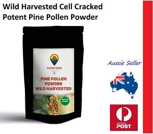 Pine Pollen 100g Cell Cracked Wild Harvested Amazing Natural Ancient Superfood