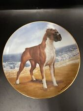 Boxers Collector Plate Simon Mendez Danbury Mint Limited Edition on the beach