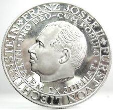 LIENCHTENSTEIN (Franz Josef II) Silver-Medal Proof