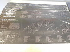 SKS TekMat Rifle Cleaning Mat Non Slip backing IN BLACK W/PARTS LIST