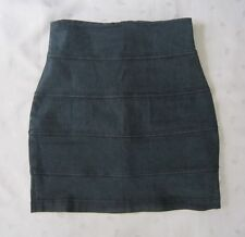 Urban Outfitters byCORPUS Above Knee Stretch Jean Denim Bandage Skirt ~ Size 4