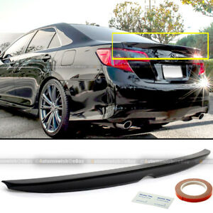 VIPMOTOZ Rear Trunk Lid ABS Plastic Spoiler Tail Wing For 2012-2014 Toyota Camry