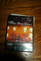 THREE DAYS GRACE LIVE AT THE PALACE 2008 DVD  - WATCHED ONCE!
