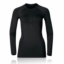 Abbigliamento sportivo da donna biancheria intimi neri manica lunghi