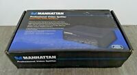 207348 Manhattan Professional Video Splitter Black 4-Port, VGA, SVGA, MultiSync