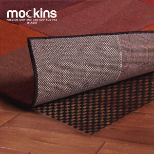 Mockins Black Premium Grip and Non Slip Protective Rug Pad 5 x 7 Area Rug Pad