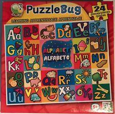 "PuzzleBug - ""Learning Alphabet"" - 24 Piece Jigsaw Puzzle - Brand New - Sealed"