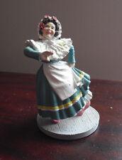 1988 Franklin Mint Wizard of Oz Portrait Sculpture Figurine - Munchkin Woman