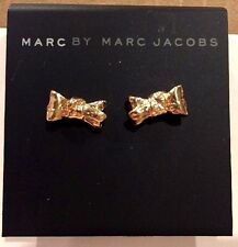 $42 NWT Marc By Marc Jacobs Rose Gold Bow Stud Earrings