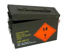 metal box of 5,56 x 45 mm NATO ammunition