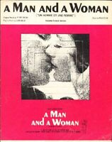 Lai, Francis - A Man And A Woman Sheet Music Free Shipping