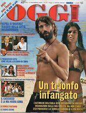 Oggi 2006 46.LUCA CALVANI-SARA TOMMASI,DALILA DI LAZZARO,ALDO MONTANO