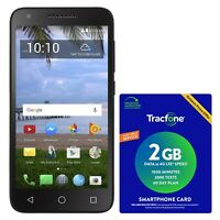Tracfone TCL LX 4G LTE Prepaid Cell Phone with $40 Airtime Plan Included