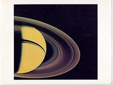 NASA - Saturn Rings - Voyager 2 - 1981 - 2 Photogravures originales d'époque -