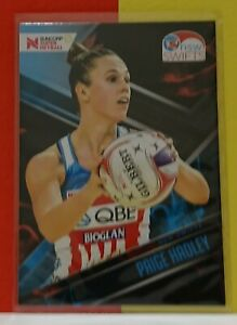 2019 Suncorp Super Netball - Paige Hadley - New South Wales Base Trading Card 52