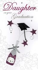 Daughter Graduation Congratulations Greeting Card Hand-Finished Cards