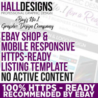 eBay Compliant 2019+ Compatible SSL eBay Shop & Listing Template Design Service