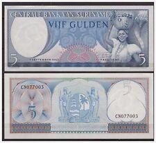 Surinam / Suriname P 120 5 gulden 1963 UNC