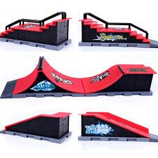 Skate Park Ramp Parts for Tech Deck Fingerboard Finger Board Ultimate Parks Red