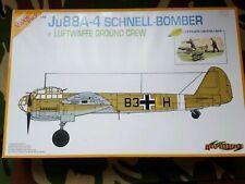 Dragon 1/48: Junkers Ju-88A-4 plus luftwaffe ground crew