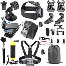Accessories Kit for GoPro Hero/ SJCAM/ Xiaomi Yi/ AKASO/ APEMAN/DBPOWER/ Campark