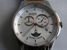 Jacques Lemans Chronograph Herrenuhr Edelstahl Ref. 1-1447 ungetragen !!!